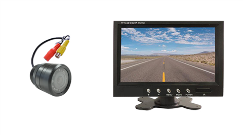 Bumper reverse Camera kit with 7-Inch Monitor | SKU2823