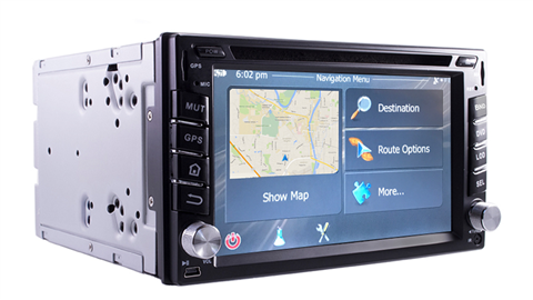 1 Din GPS with optional backup camera