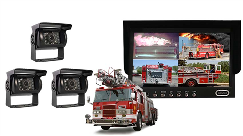Fire truck Backup Camera System