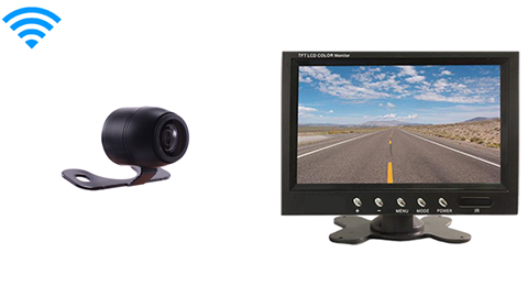 7 Inch Monitor and a Wireless Frontal Camera Great for All Vehicles!