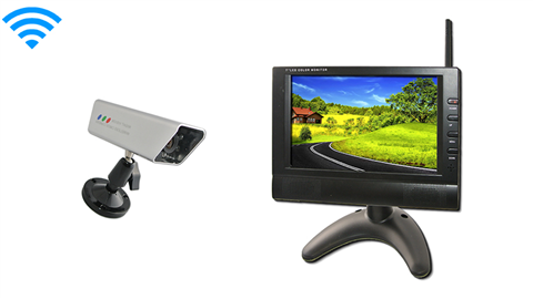 7 Inch Monitor and 120 Degree Wireless Magnet Backup Camera SKU-81890