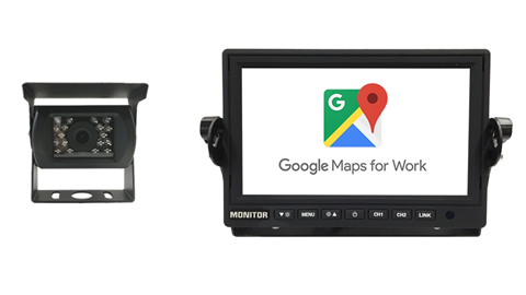 Wi-Fi Monitor and RV Backup Camera featuring mobile phone mirroring | SKU90351