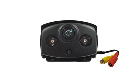 The 180 degree ultra-wide panoramic RV backup camera is the widest angle available. This camera will show you the view behind and to each side.
