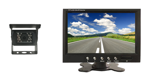 Monitor with backup camera