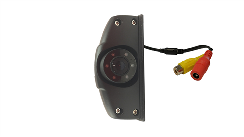 The premium slim hi-res CCD side camera is a lower-profile version of our CCD side cameras. Includes automatic night-vision infrared LEDs.