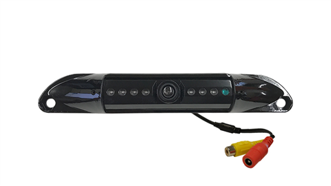 Black License Plate Backup Camera