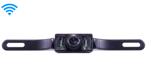 120° Front License Plate Camera (Wireless) | SKU33277