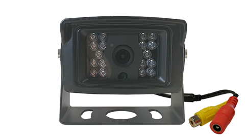 The heavy duty 120 degree hi-res CCD RV backup camera has a rugged housing built to survive the worst weather conditions!