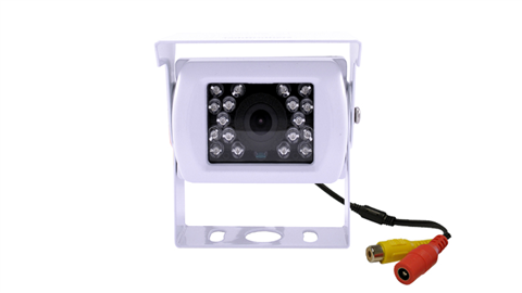 Aftermarket White RV Backup Camera