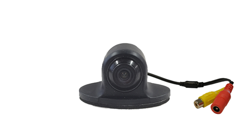 The front facing adjustable camera is one of our smallest available cameras for use as a dash cam or in the front grille.
