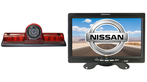 Nissan NV Van 3rd Brake Light Backup Camera System|SKU50898