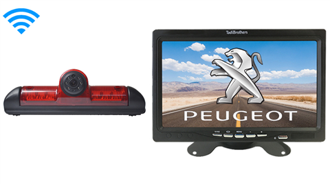 Peugeot Boxer Van Wireless 3rd Brake Light Backup Camera System
