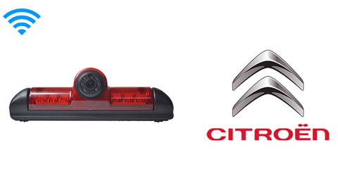 Citroen Jumper Third Brake Light Wireless Backup Camera (Birds Eye View) | SKU24402