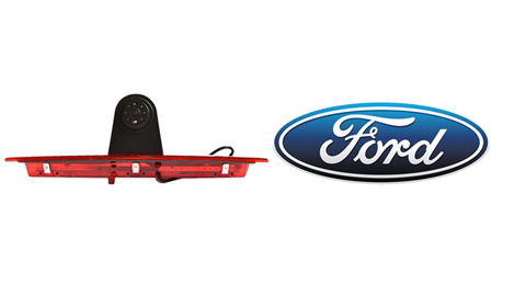 The Ford Transit 3rd brake light backup camera is designed to replace the existing brake light housing with an integrated CCD backup camera.
