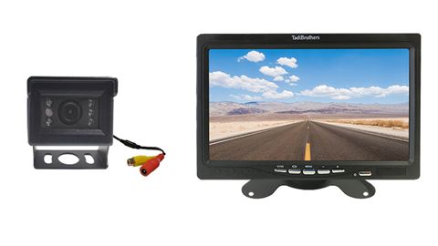 Mini RV Backup camera system 7 Inch monitor | SKU-98521