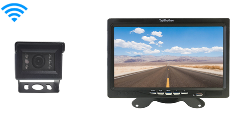 Smaller Wireless RV Backup Camera and 7 inch Monitor