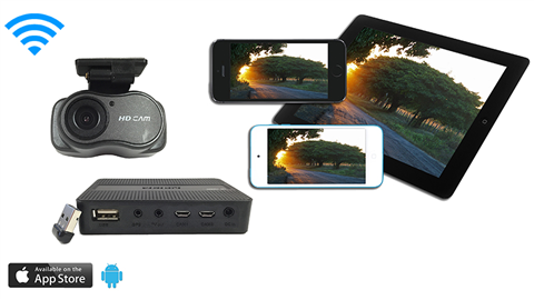 Digital Dash Camera with app -SKU32469