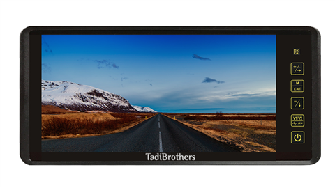 9-Inch LCD Mirror Monitor for backup camera
