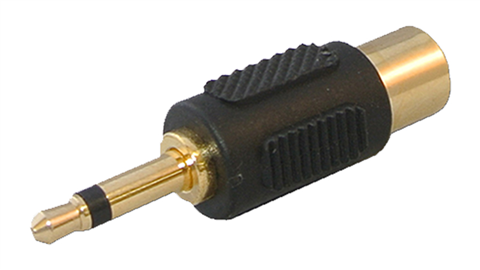 3.5mm to RCA Connector for backup camera