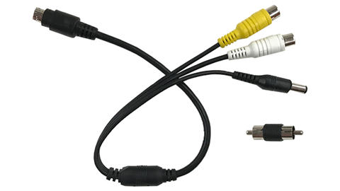 6 pin adapter for backup camera system