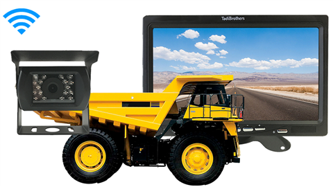 Commercial Dump Truck Backup Camera system | SKU504641