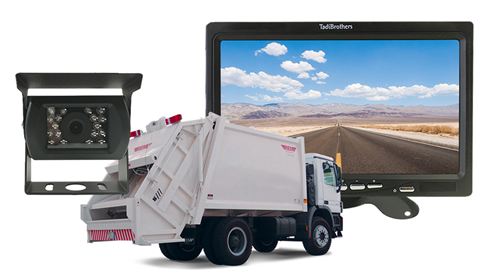 Commercial Garbage Truck Backup Camera system | SKU33464