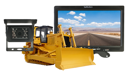 Bulldozer Backup Camera System