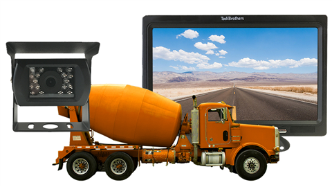 Cement Truck Backup Camera system