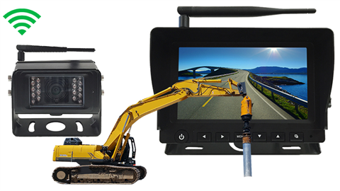 Pile driver wireless Backup Camera System [Commercial Grade] SKU-16173