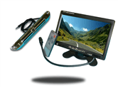 license plate backup camera kit