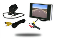 Affordable backup camera kit