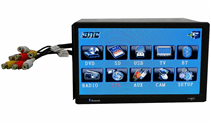 In Dash Navigation System with Backup Camera