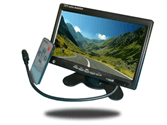 Rearview monitor for fifth wheel