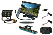 5th wheel backup camera system