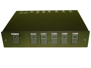 4 channel Multiplexer Control Box