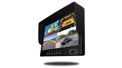 split screen backup camera monitor
