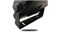 #A view of the U-bracket dash mount included with the 7 inch Heavy Duty Monitor.