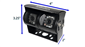 #Dual Lens RV camera Dimensions 3.25 inches by 4 inches by 2 inch