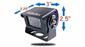 #Heavy duty 120 degree hi-res CCD RV backup camera dimensions: 2.25
