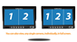 #You can split the screen up into 2's, 3's, or 4's.