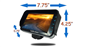 #The Heavy Duty High Definition Monitor's dimensions are 7.75