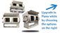 #The double lens RV box camera is also available in a metallic piano white housing.