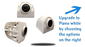 #The Premium Side RV wireless cameras are also available with a metallic piano white housing