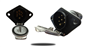 #The industrial trailer tow quick disconnect has spring loaded caps that protect the plugs from moisture and debris.