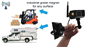 #The portable battery built-in wireless magnet RV backup camera can broadcast wirelessly up to 150 feet.