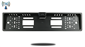 #120° Degree Black European License Plate Frame HD Backup Camera (Euro Plate Backup Camera) (Hi-Res Wireless CCD)   SKU79759