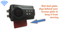 #The 120 degree built-in wireless slip-on backup camera includes an adhesive pad on the slip mount to better secure it.