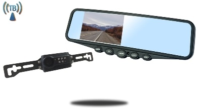 Digital Wireless License Plate Backup Camera system for van