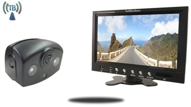 Wireless 180 Degree Panoramic RV Backup Camera kit