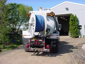 Sewer Flusher Truck